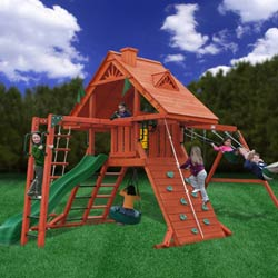 Sun Palace Swing Set with Monkey Bars