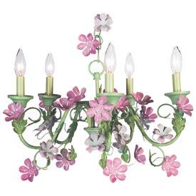Jubilee Pink Blossom Chandelier