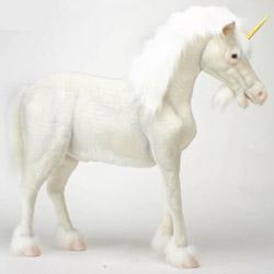 Ride-On Plush Unicorn