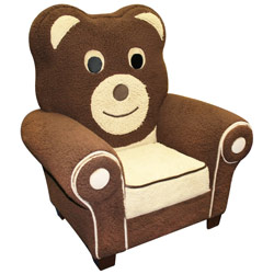 Hannah Baby Fuzzy Bear Chair
