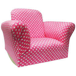 Hannah Baby Child's Polka Dotted Standard Rocker
