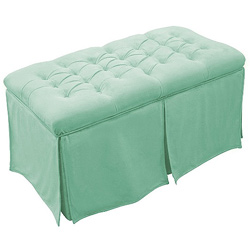 Hannah Baby Tufted Toy Box