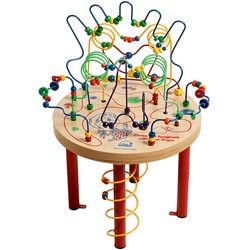 Spaghetti Legs Maze Table