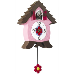 Elephant Coo Coo Clock