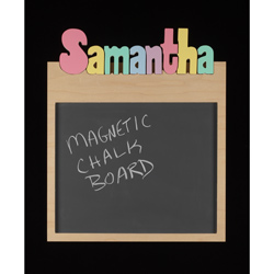 Personalized Memo Board Long Name - 12 letters/1 name