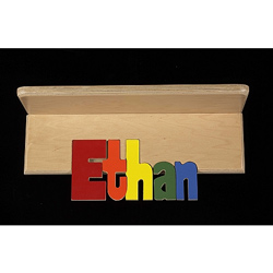 Personalized Book Shelf - 8 Letters
