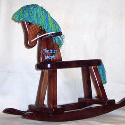 Personalized Boys Rocking Horse