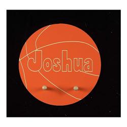 Name Engraved Basketball