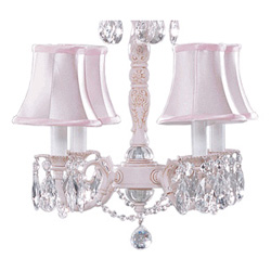Alexandria Rose Chandelier Lamp Shades