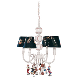 Sports 4 Arm Chandelier