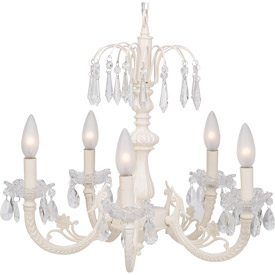 Jubilee Flower Crystal Chandelier