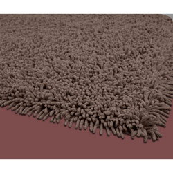 Brown Premium Cotton Shag Rug