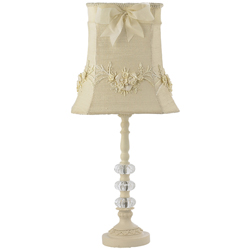 Jubilee Ivory Floral Bouquet Lamp