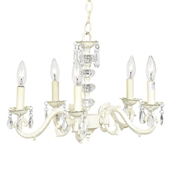 Jubilee Ivory Dangle Chandelier