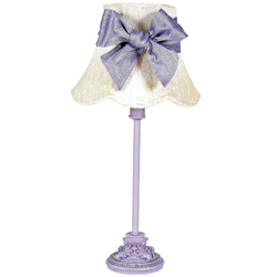 Jubilee Lavender Leaf Scroll Lamp