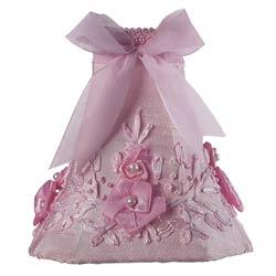 Jubilee Pink Floral Bouquet Chandelier Shade