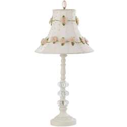 Jubilee Roses on Vine Lamp