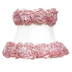 Jubilee Ring of Roses Chandelier Shade