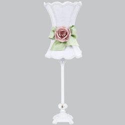 Jubilee Hourglass Rose Lamp