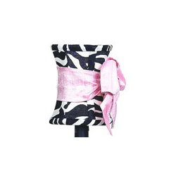 Jubilee Zebra Pink Bow Set of 5 Shades