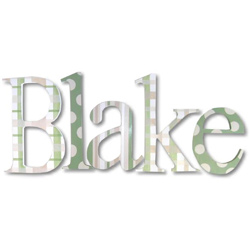 Blake's Pattern Wall Letters