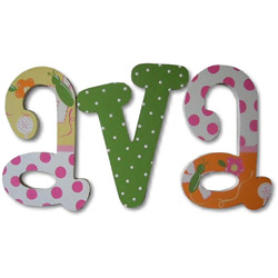 Cheerful Garden Wall Letter
