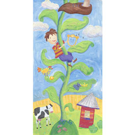 Jack And The Bean Stalk Stretched Art