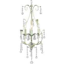 Jubilee 3 Arm Pear Chandelier