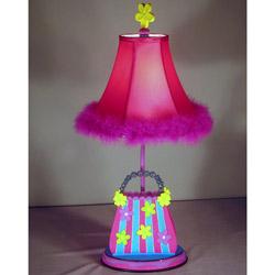 Girl Handbag Table Lamp