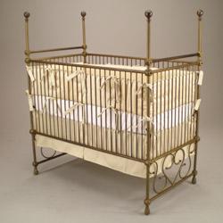 Juvenile Heirlooms Grandeur Iron Poster Crib