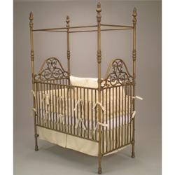 Juvenile Heirlooms Opulence Iron Crib