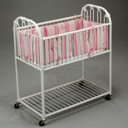 Juvenile Heirlooms Classic Iron Hospital Cradle