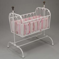 Juvenile Heirlooms Vintage Iron Cradle