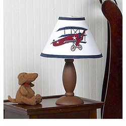Vintage Airplane Lamp Shade
