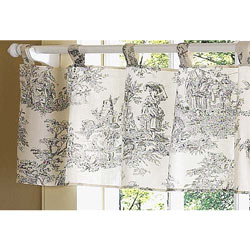 Toile Window Valance