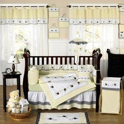 Bumble Bee Crib Bedding Set