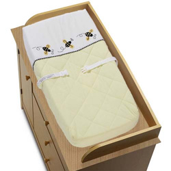 Bumble Bee Changing Pad Cover