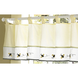 Bumble Bee Window Valance