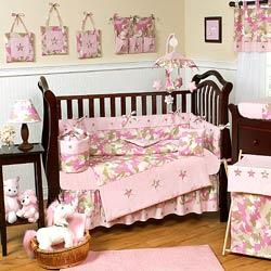 Camo Crib Bedding Set