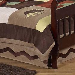 Dinosaur Land Toddler Bed Skirt