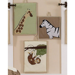 Jungle Adventures Wall Hangings