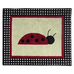 Ladybug Floor Rug