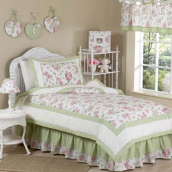 Riley's Roses Twin Bedding Set
