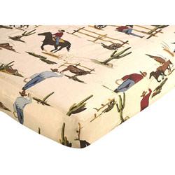 Wild West Crib Sheet