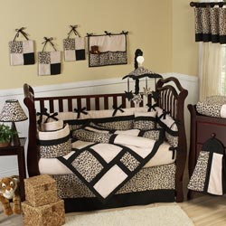 Animal Safari Crib Bedding Set
