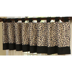 Animal Safari Window Valance