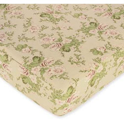Annabel Floral Fitted Sheet