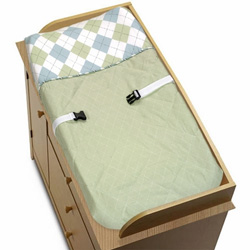 Argyle Changing Pad Cover