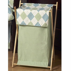 Argyle Laundry Hamper