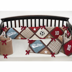 All Star Sports Crib Bumper